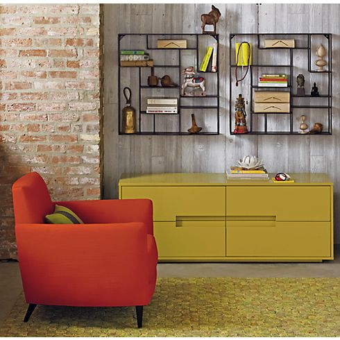 buy online d57e3 a08a6 CB2 Alcove Wall Shelf | Home Ideas | Wall shelves, Low ...