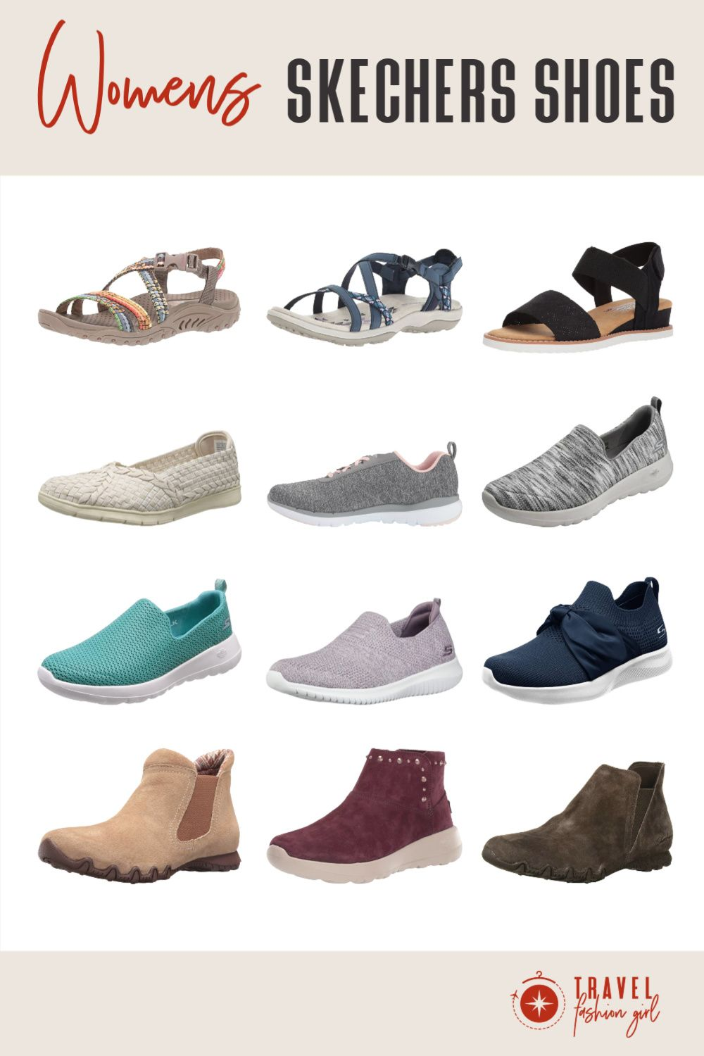 Comfortable Skechers Shoes for Women