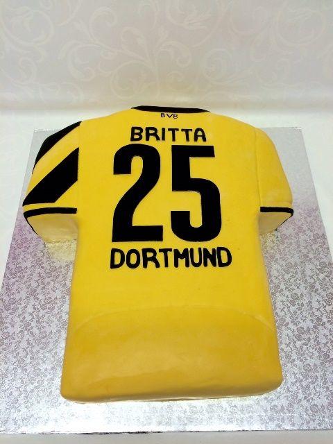 Bvb Dortmund Trikottorte In 2019 Fussball Torte Fussball