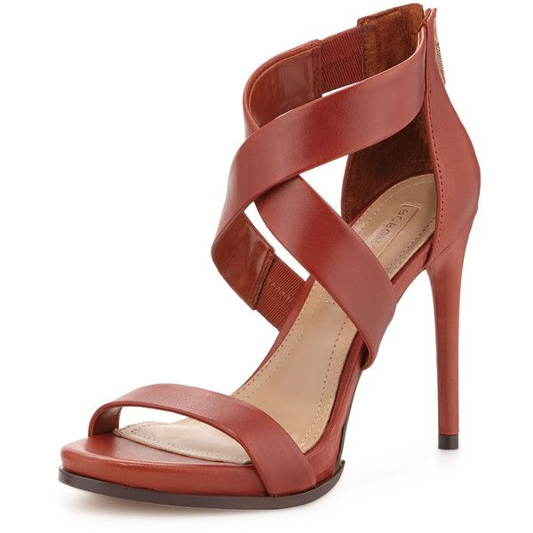 6f15ded74d6 Bcbgmaxazria Elyse Strappy Sandal (2 035 ZAR) ❤ liked on Polyvore featuring  shoes