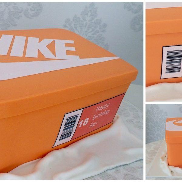 Bien-aimé gâteau boite à chaussures baskets nike nike shoe box cake  JC39