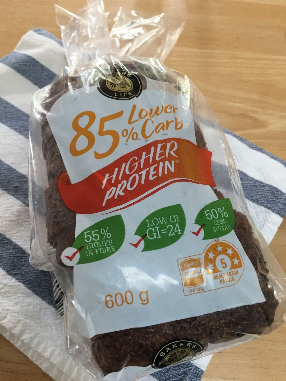 Aldi Low Carb Bread ? by Bakers Life // Product Review
