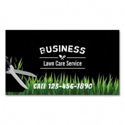 Lawn Care & Landscaping Service Professional Magnetic ...