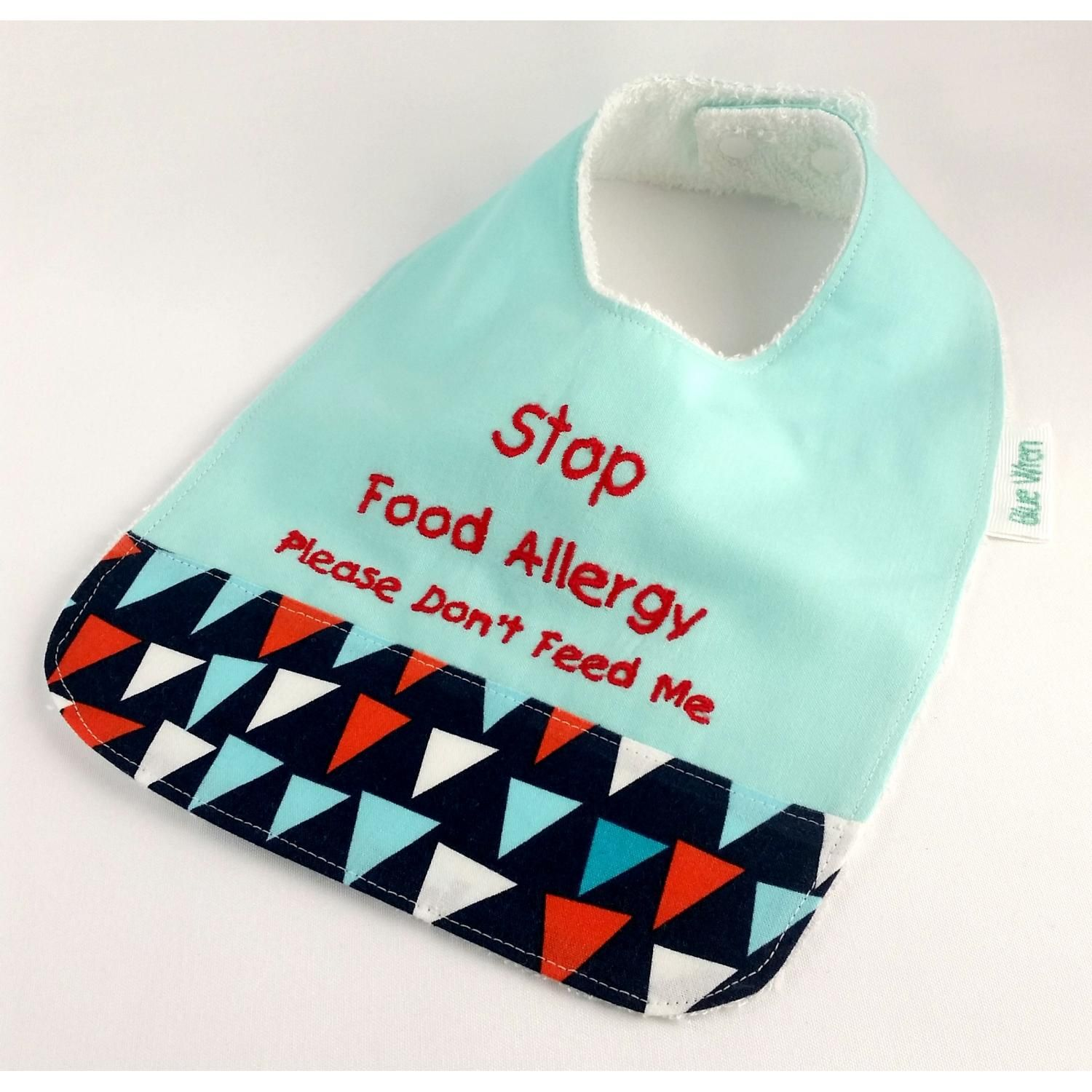 This allergy alert bib could help to save your babys