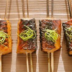 Grilled Chilean Salmon Yakitori | Chilean Salmon M