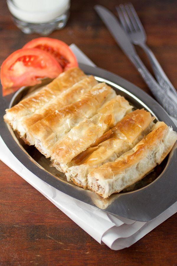 Meat Potato Phyllo Pie