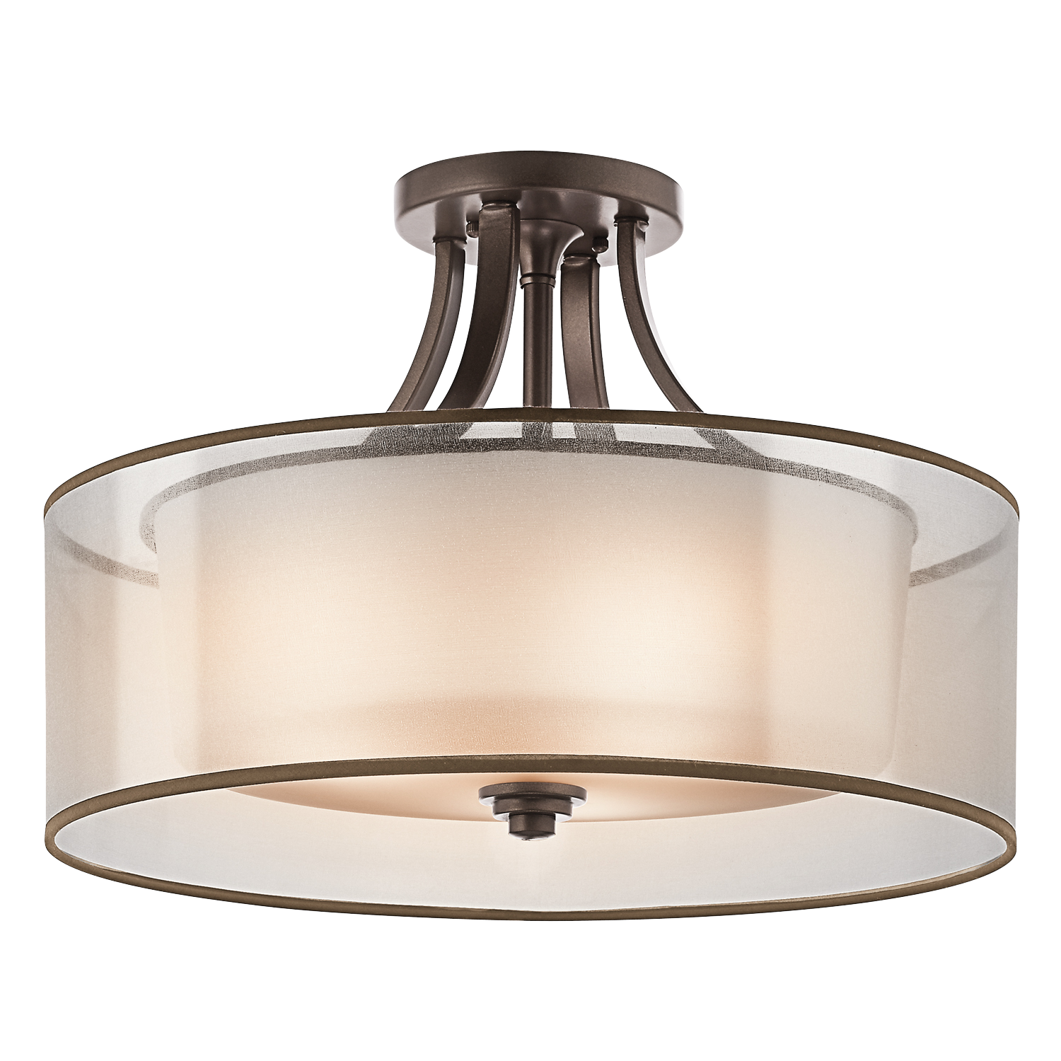 Kitchen Semi Flush Lighting Lacey 4 Light Semi Flush Ceiling Light Miz Kitchen Lights