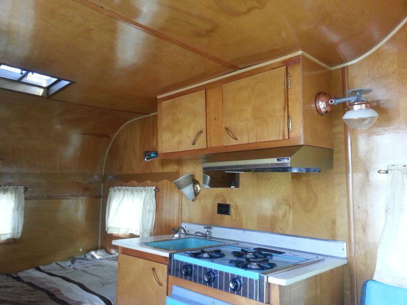 Vintage Frolic Travel Trailer In RVs Campers EBay Motors - Travel trailer without bathroom