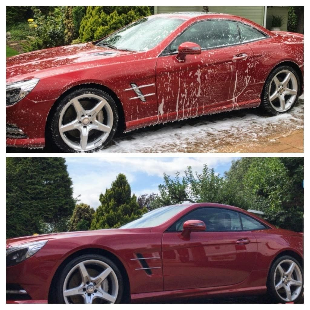 Before After Mercedes Regular Maintenance Wash By Scl Car Detailing Peterborough Car Detailing Car Super Cars