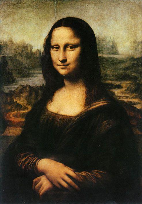 Image detail for -Famous paintings by famous artists: Leonardo da Vinci - Mona Lisa