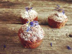 Low Carb Schoko-Apfel-Muffins, einfach köstlich! #apfelmuffinsrezepte