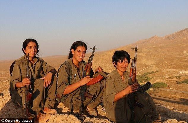 Kurdish women.