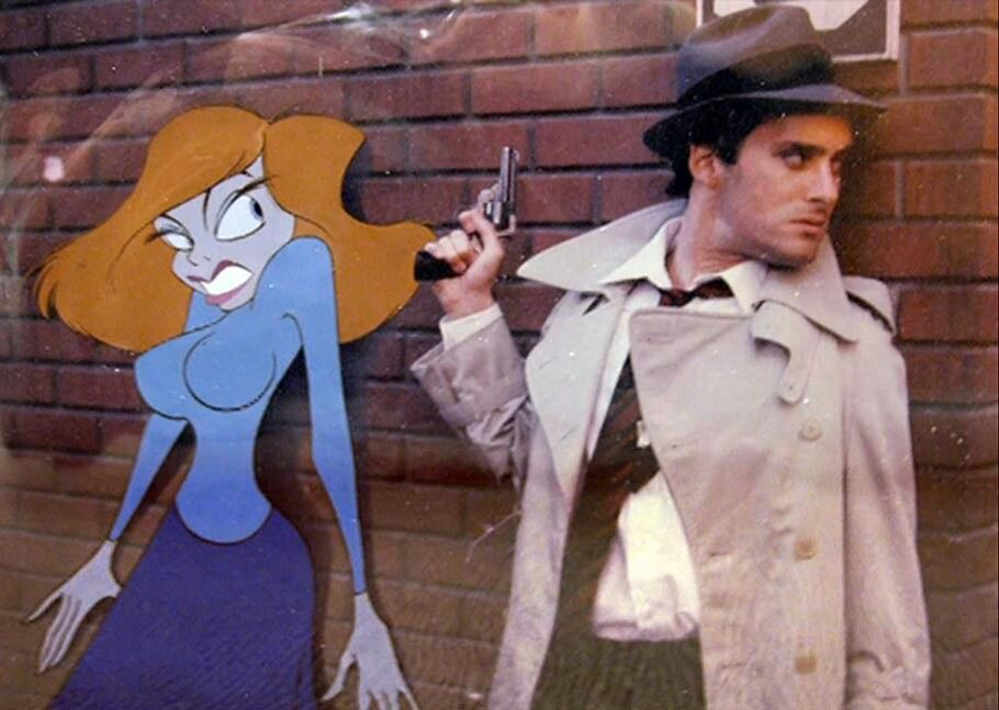 """Early version of """"Who framed Roger Rabbit"""" 6 years before the final version. (1983)"""