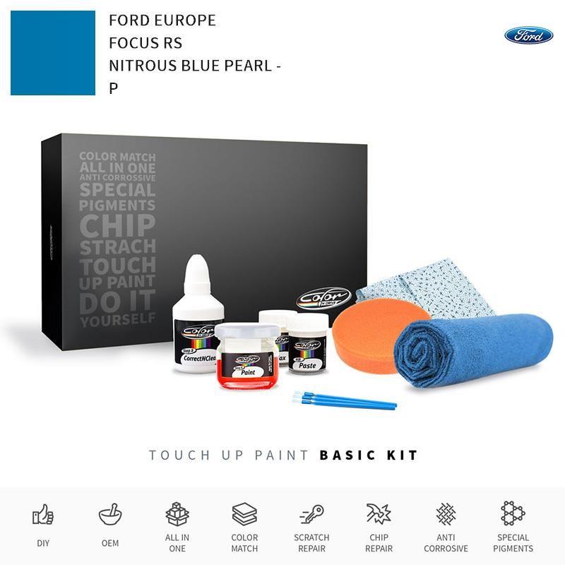 Ford Europe Focus Rs Nitrous Blue Pearl P Touch Up Paint Seidenmatt Hyundai I20 Bmw3