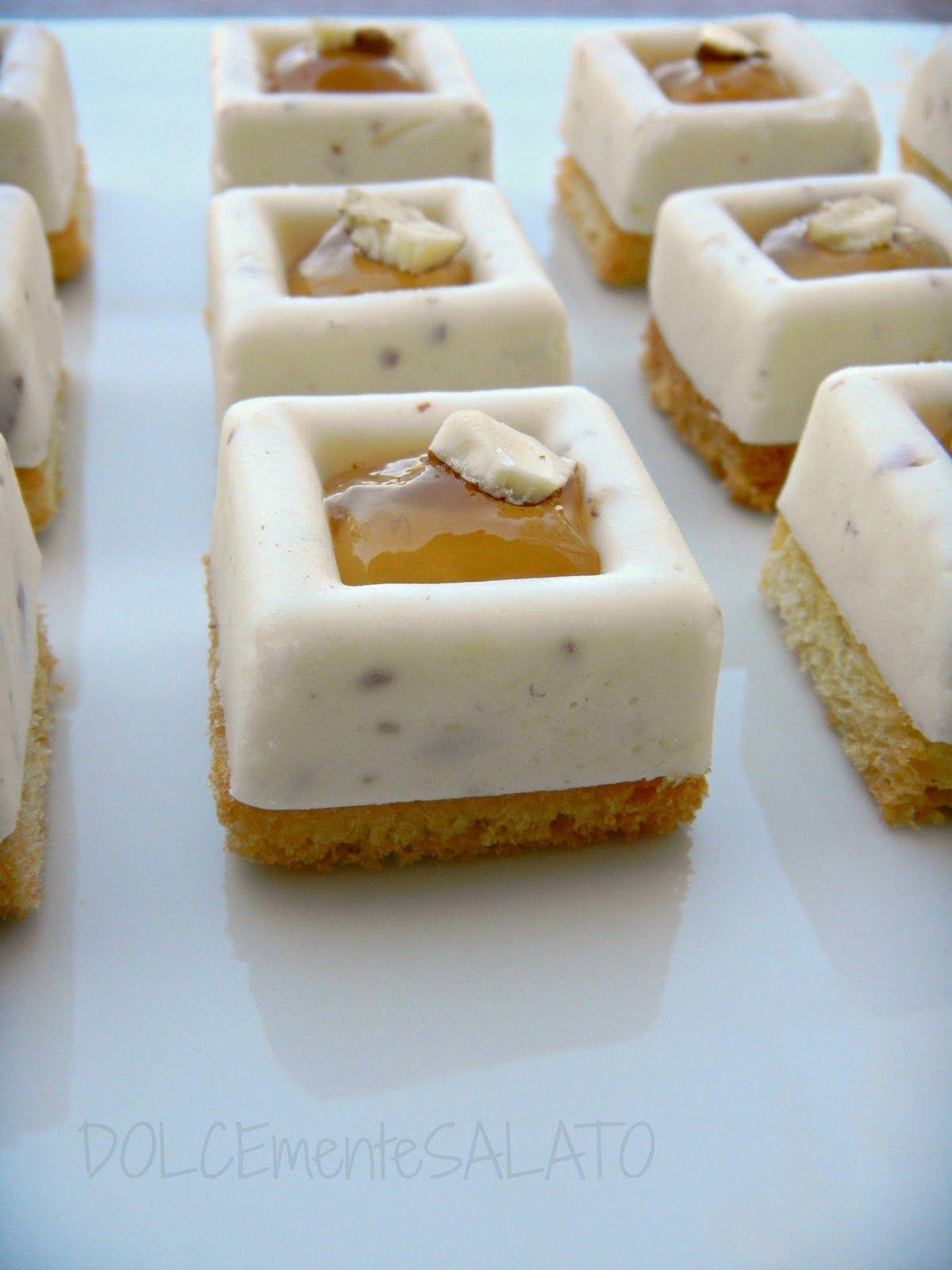 DOLCEmente SALATO Mini savarin ai formaggi con gelatina di birra