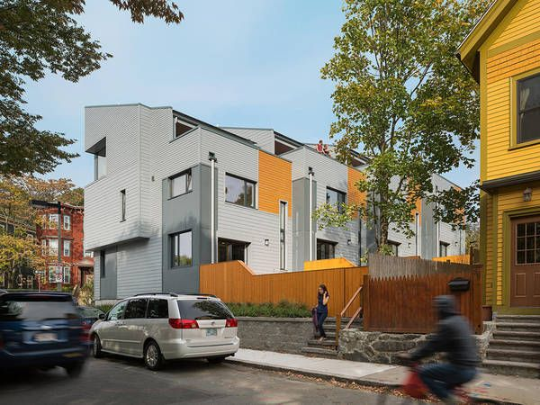 226-232 Highland Street Townhouses by Interface Studio Architects (ISA) and Urbanica Design