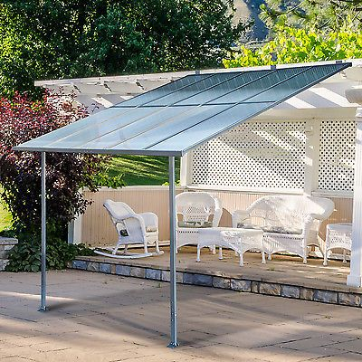 Elegant 3 X 3m Wall Mounted Canopy Outdoor Awning Aluminuim Sun Shade Shelter  Countertop