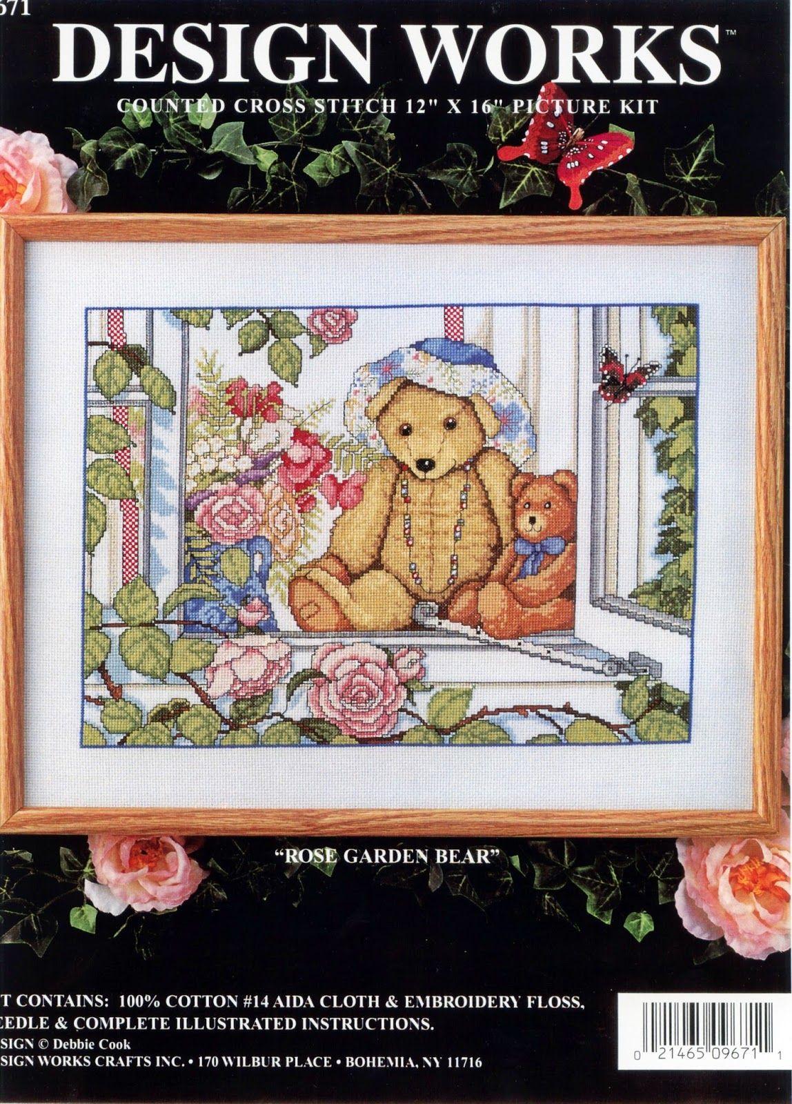 PLANETA PONTO CRUZ 2: Rose Garden Bear