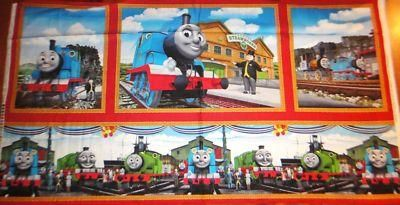 W Quilting Fabric Fat Quarter Thomas The Tank Engine The Color Express Numbers