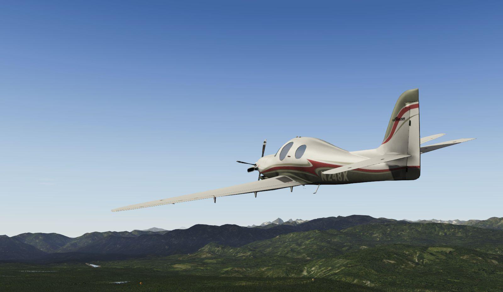 X-plane Lancair Evolution (FS9 & FSX non-available)   Microsoft