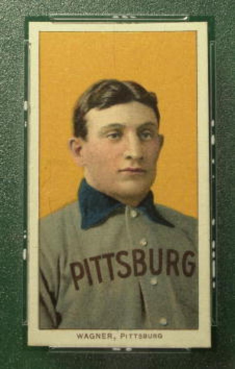 Honus Wagner Baseball cards, Rare baseball cards, Baseball