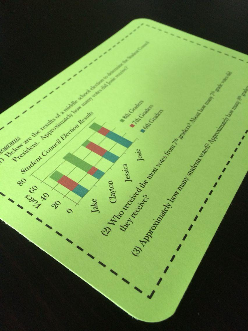Math Enrichment Problems (Data and Graphs) - 6th Grade ...