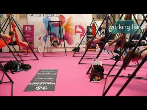 Go Aerial Yoga with Jo Blenkinsopp and Sophie Bickerdike Apple Devices H...