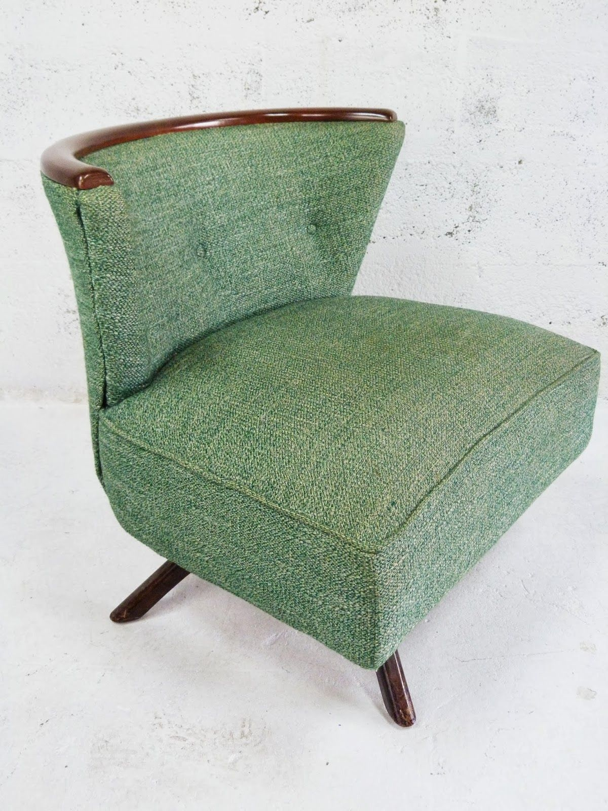 Vintage Kroehler Swivel Chair With Images Modern Style