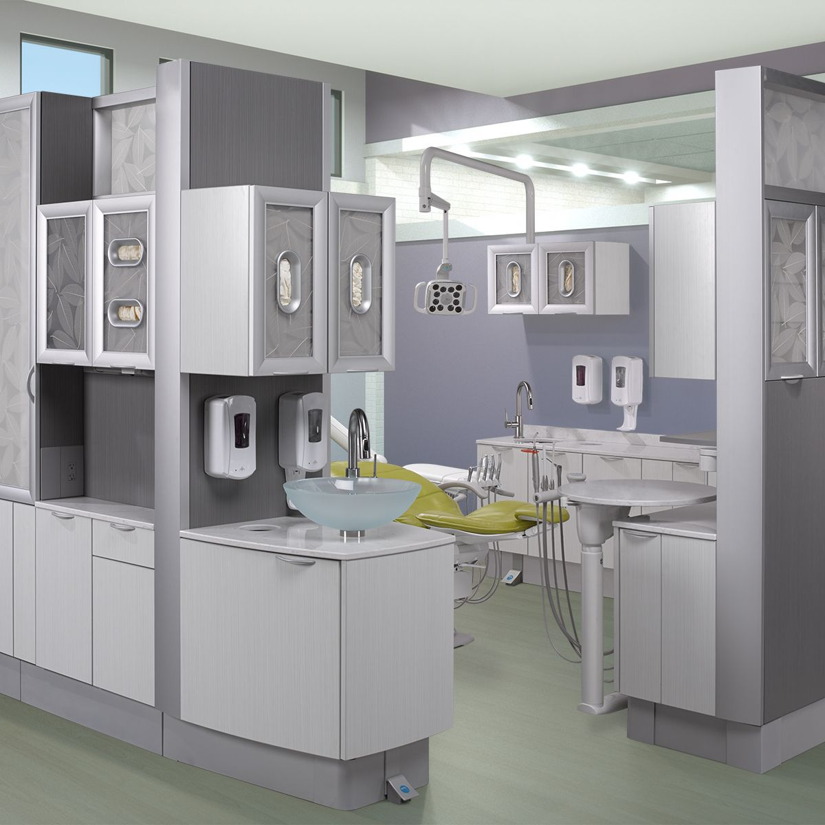 a-dec inspire dental furniture. featured dental office decor