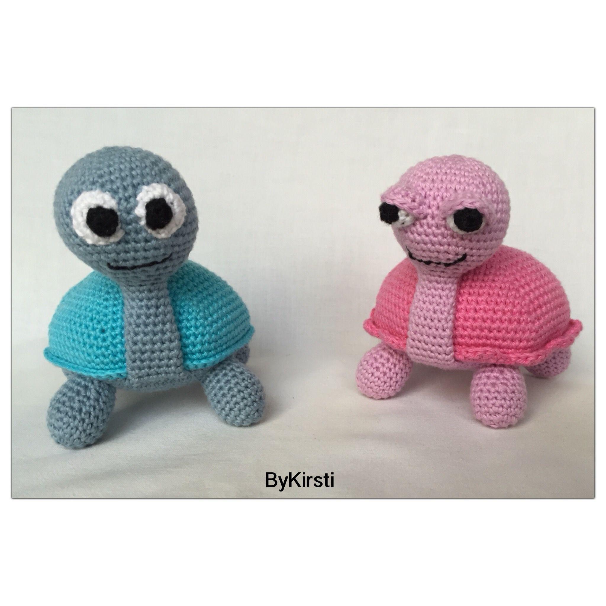 Cute turtles, free pattern   FIGURINE CROCHET   Pinterest   Tejido y ...