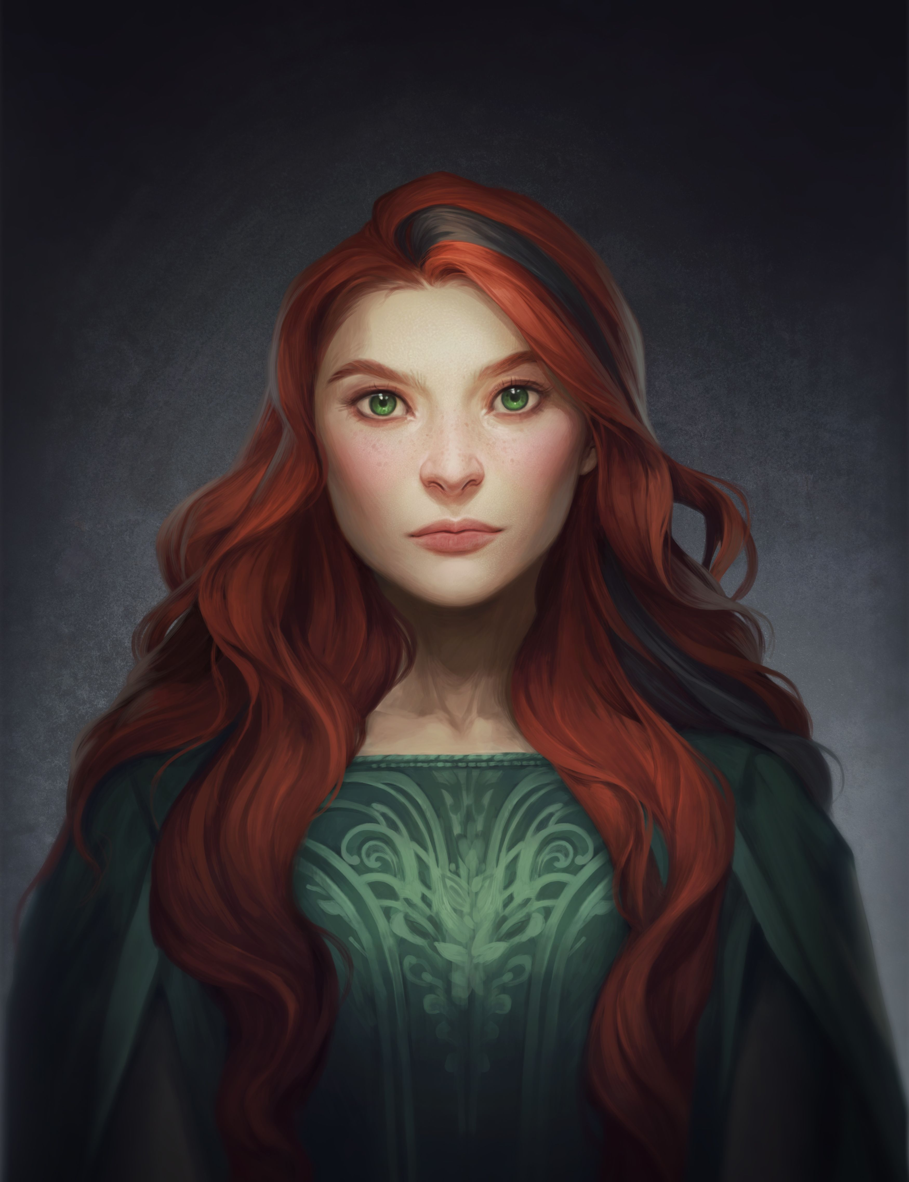 Vika Vika By Charlie Bowater The Crown 39s Game Fan Art