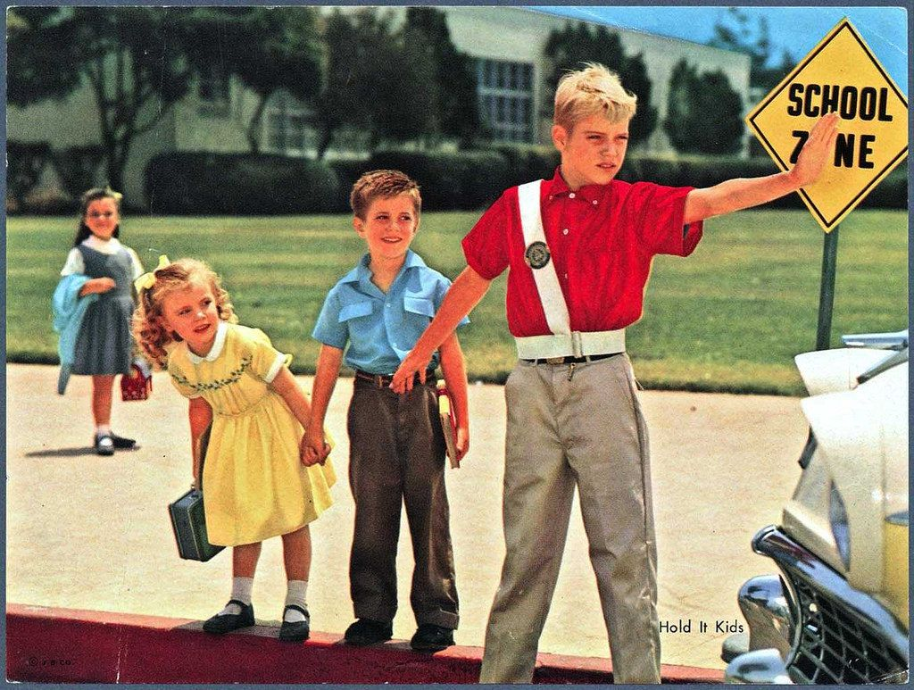 Hold It Kids Vintage school, Private practice, School safety