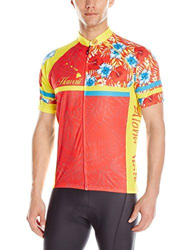 Canari Mens Hawaii Floral Jersey Multicolor Large     Check this awesome  product by going to the link at the image. (Note Amazon affiliate link) 77f12c888
