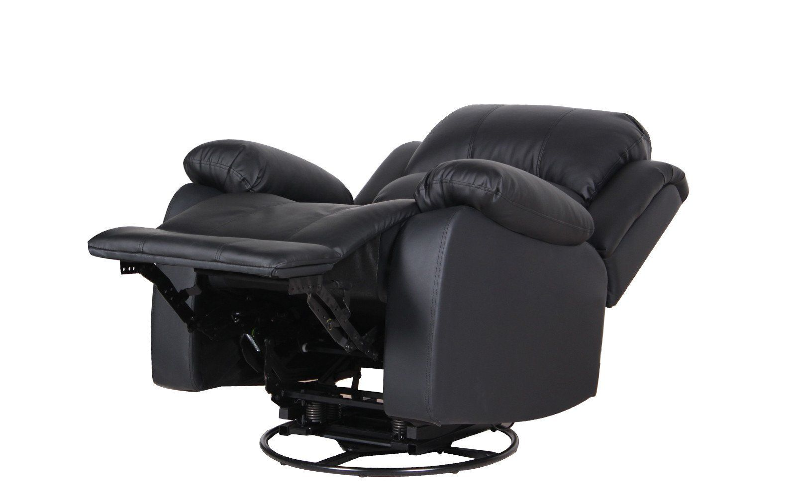 John Bonded Leather Recliner Rocker