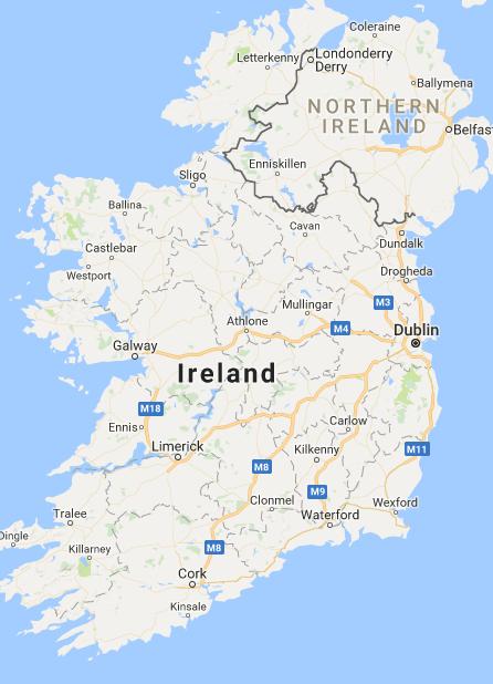 Taxi Fare Estimator | Transport for Ireland | Irish logistics | Map Dublin Map Directions on
