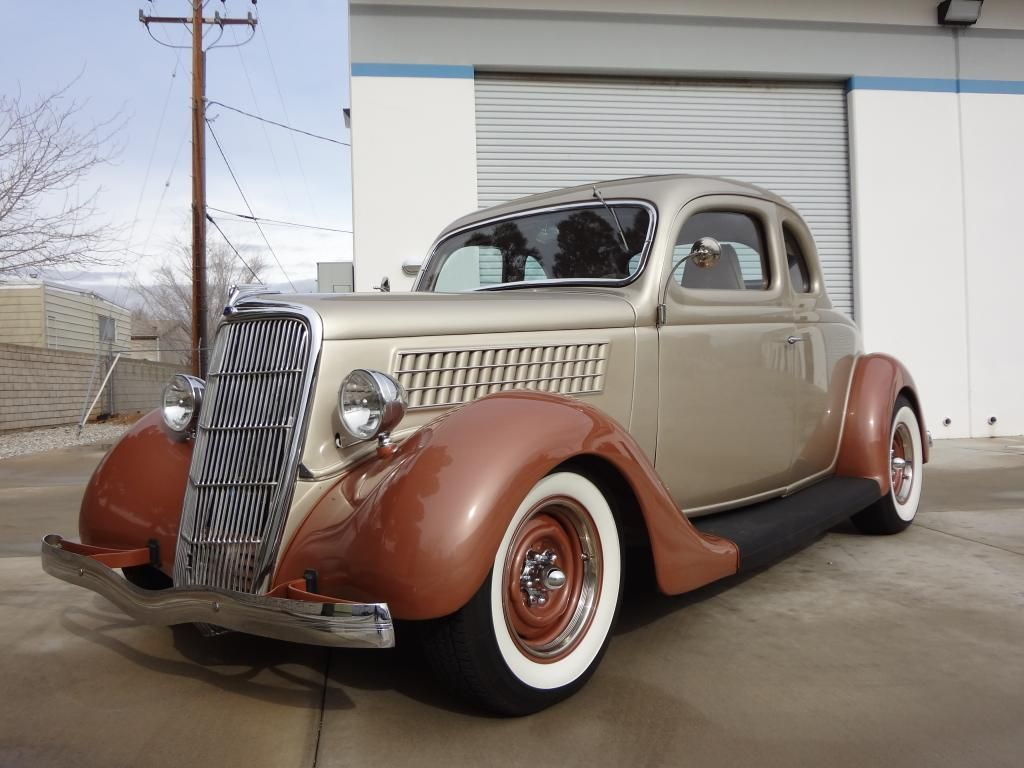 For Sale: 1935 Ford 5 Window | HotRodHotline.com | Hot Rod Hotline ...