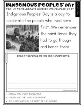 What Is Indigenous Peoples Day Freebie Indigenous Peoples Day Indigenous Peoples Teaching