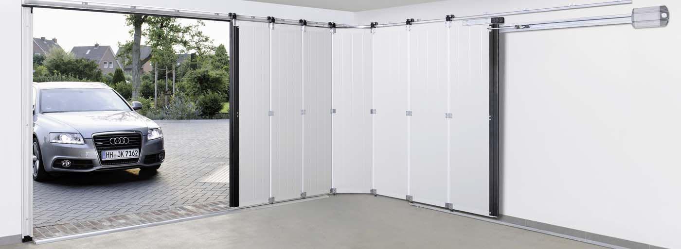 Teaser Porte Sectionnelle Latérale Httpwwwhormannfrportesde - Porte de garage electrique