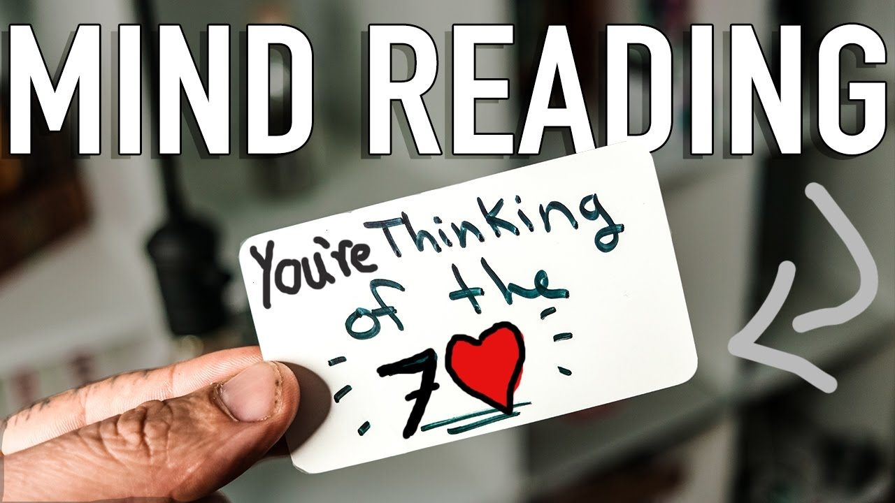 Perfect Mind Reading Trick Explained Mentalism Tutorial