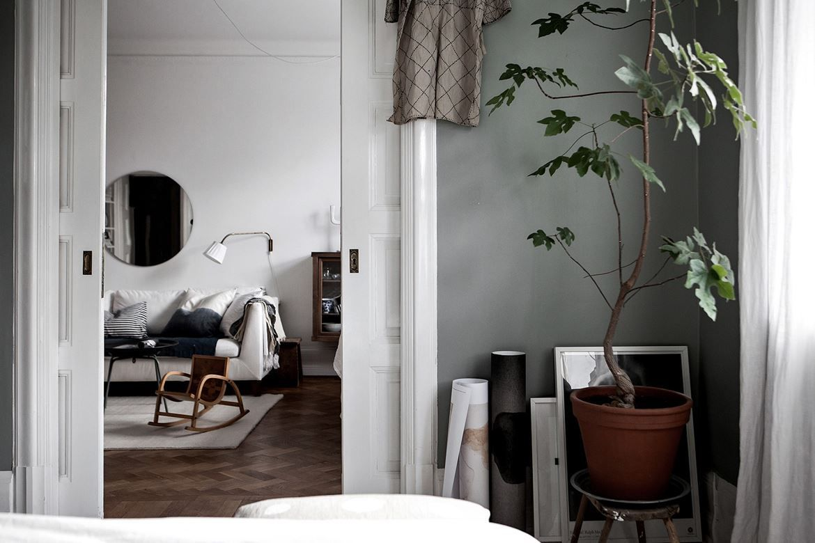minimalist spaces with green walls the edit green walls