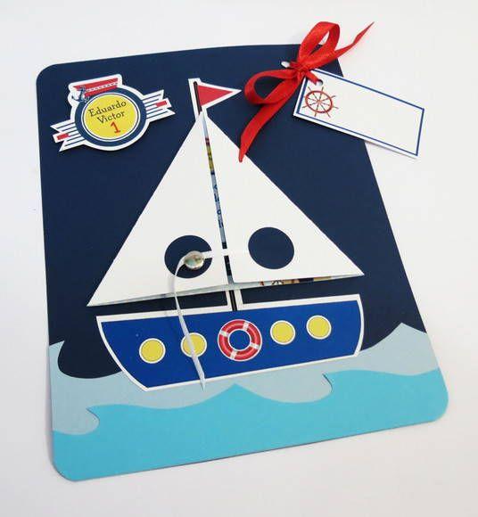 convite ursinho marinheiro no elo7  afeto e letras  por