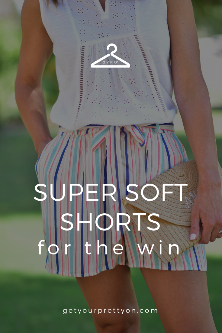 Super Soft Shorts for the Win! – Get Your Pretty On