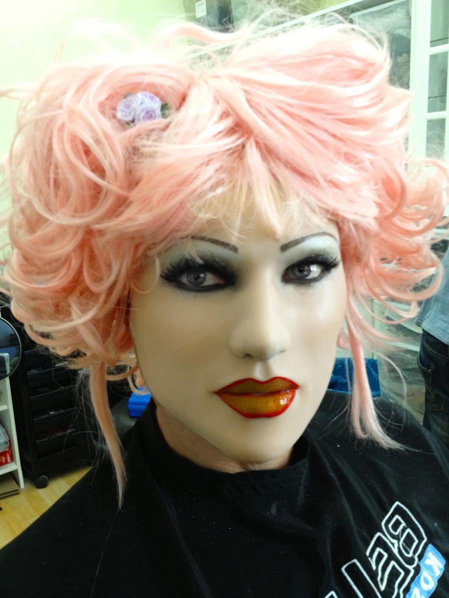 Silikon Maske Frau