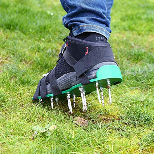 Haitop Aerator Shoes Lawn Aerator Shoes Lawn Aerator Spike Shoes For Lawn Recommended Backyardequip Com In 2020 Aerate Lawn Spike Shoes Aerator