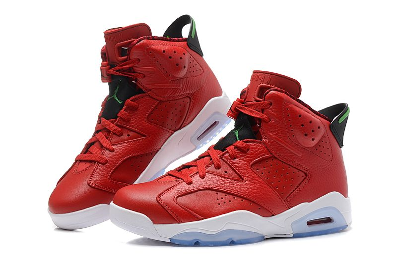 Jordans For Men red leather  Air Jordan 6 VI Retro MVP