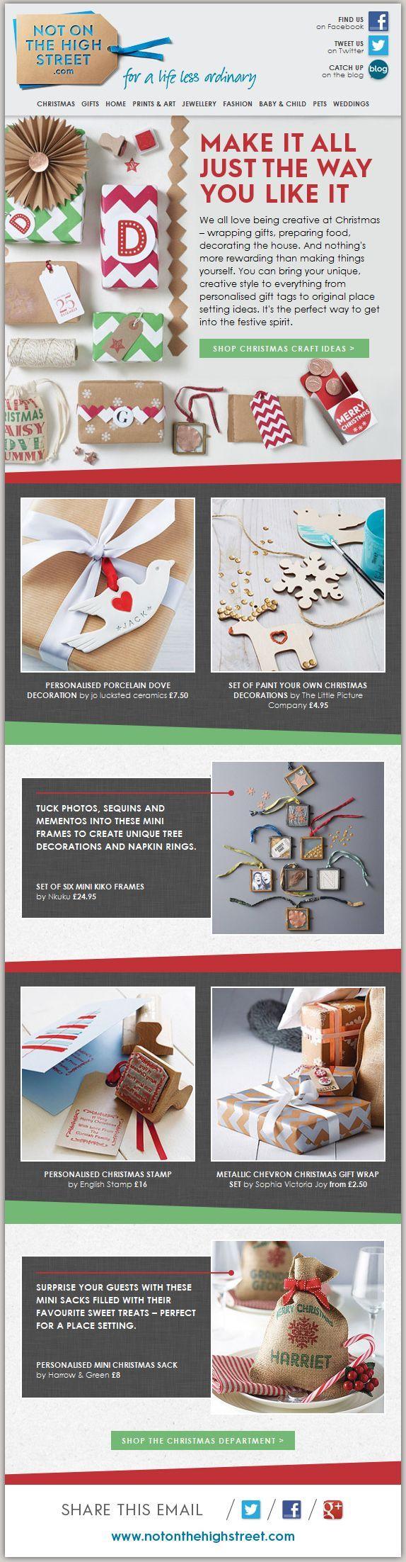 22 Inspirational Christmas HTML Email Templates   Creativity ...