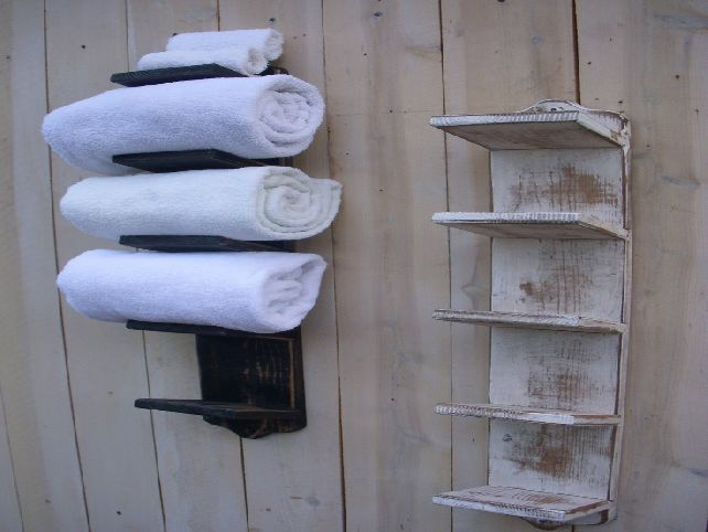 Towel Storage For Small Bathroom Lake House Pinterest Towel - Hanging towel storage for small bathroom ideas