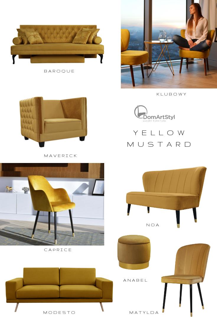 Yellow Mustard Furniture Furniture Sofa Armchair Chair Pouf