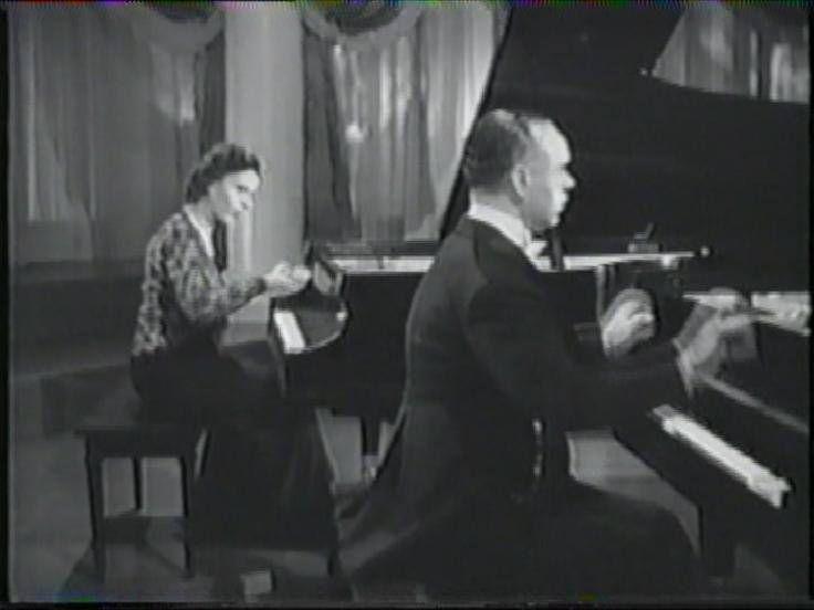 José Iturbi & Amparo Iturbi
