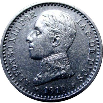 50 céntimos (1910)(*19-10) Madrid PC V - MBC